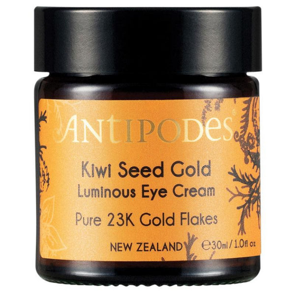 Antipodes Kiwi Seed 23k Gold Eye Cream 30ml