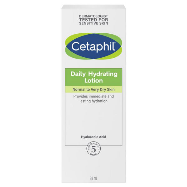 Cetaphil Face Daily Hydrating Lotion with Hyaluronic Acid 88ml