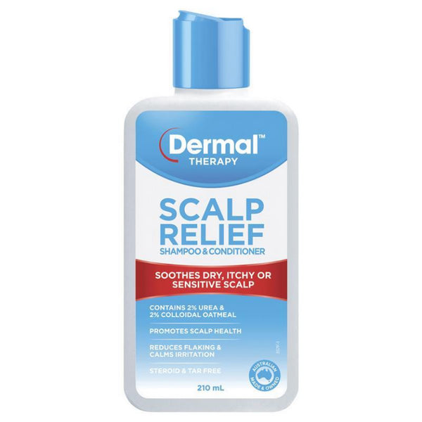 Dermal Therapy Scalp Relief Shampoo & Conditioner 210ml