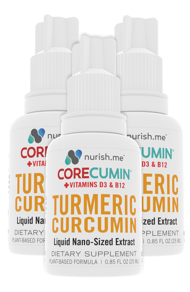 CoreCumin® (25 mL) Natural Joint & Immune System Support (3-Pack)