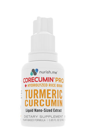 CoreCumin® (25 mL) PRO Hydrolyzed Rice Bran | Natural Joint & Immune System Support
