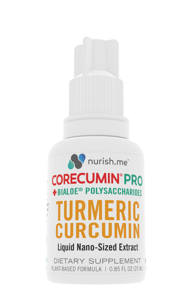 CoreCumin® 25 mL PRO Advanced Formulation with BiAloe®