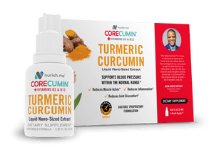 CoreCumin® 25 mL Original Formulation -  Reduces Joint Pain Caused by Inflammation  Supports Blood Pressure Within the Normal Range