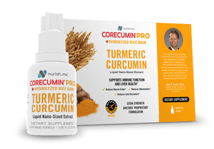 CoreCumin® 25 mL PRO Advanced Formulation with Hydrolyzed Rice Bran