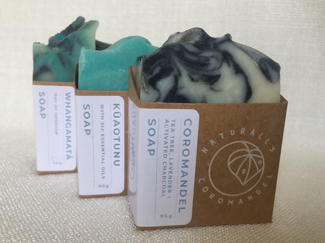 Soaps 3 for $20 - The Coromandel Collection