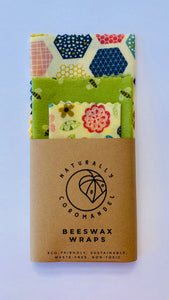 Beeswax Wrap Starter Pack - Honey to the Bee