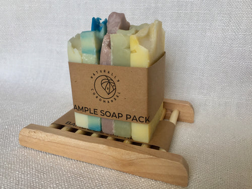Soap Sampler Set & Rack Combo
