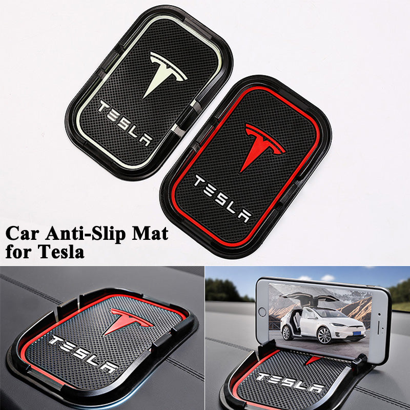 1pc Car Anti Slip Mat phone key GPS holder for Tesla Model S Model X - Car Diagnostic Tool