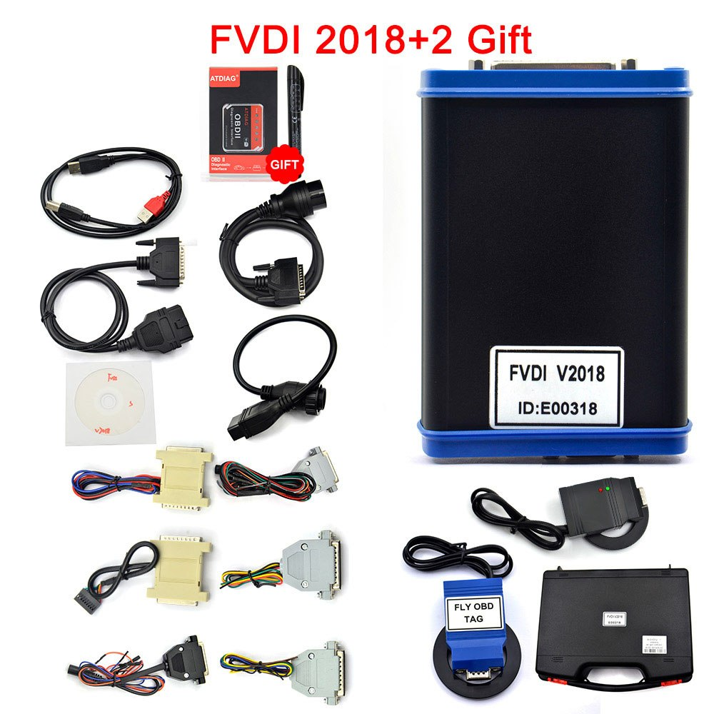 FLY FVDI ABRITES Commander Full Version (18 Software) V2014/2015/2018