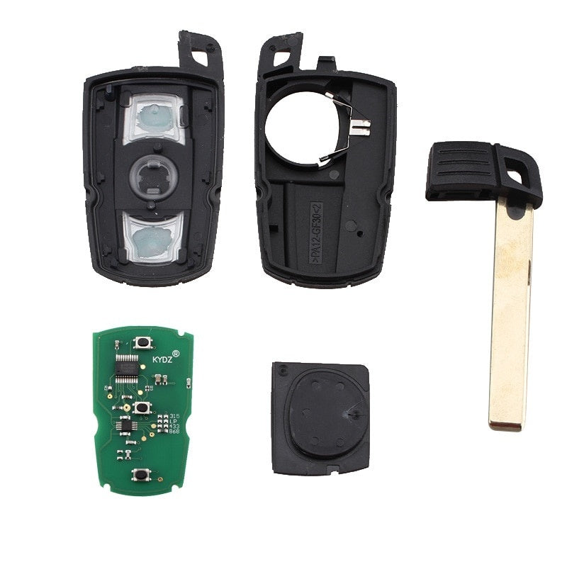 868MHz 3Button Remote Car Key for BMW E60 E61 E70 E71 E72 E81 E82 E87 E88 E90 E91 E92 E93 KR55WK49123 Smart Key PCF7945Chip - Car Diagnostic Tool