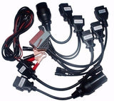 vci delphi ds150e with bluetooth SCANNER TCS cdp pro plus with LED 3+ Full 8 Car Cable