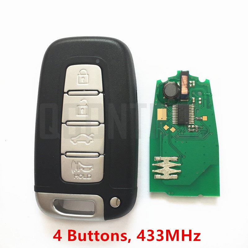 Car Remote Smart Key Fit for HYUNDAI 433MHz with Chip - Car Diagnostic Tool