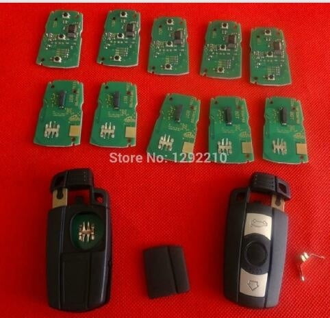 Remote Key 3 Button for BMW  3/5 Series X1 X6 Z4 868MHZ With ID7944 Chip