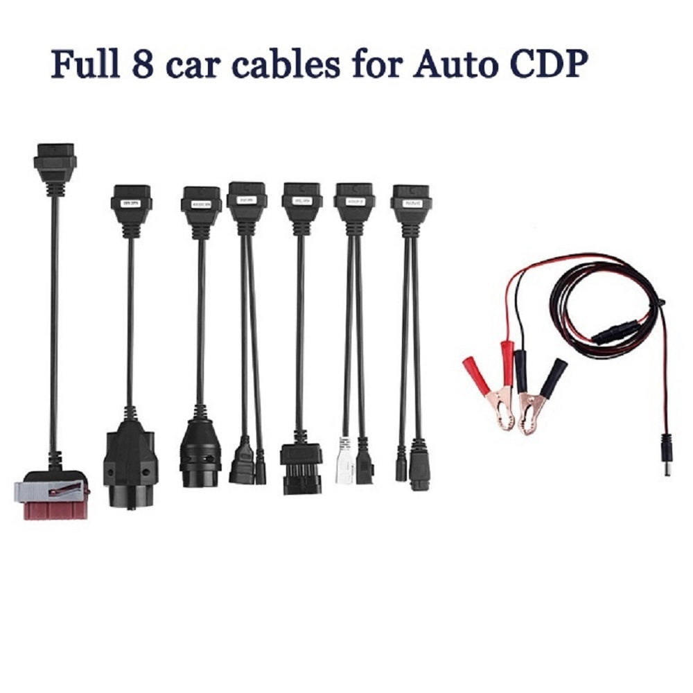 Diagnostic tool TCS CDP Pro Plus+OKI CHIP+Bluetooth for Autocom Cars / Trucks ( Compact scan partner )+Full 8 car cables