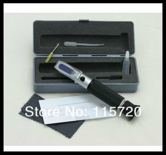 Ethylene Glycol Propylene Glycol Antifreeze Refractometer ,Freezing point tester for copper alloy ,glass of water