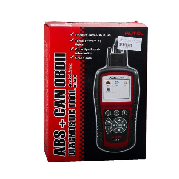 Autel AutoLink AL609 ABS CAN OBDII Diagnostic Tool Diagnosis ABS System Codes Internet Updatable - Car Diagnostic Tool