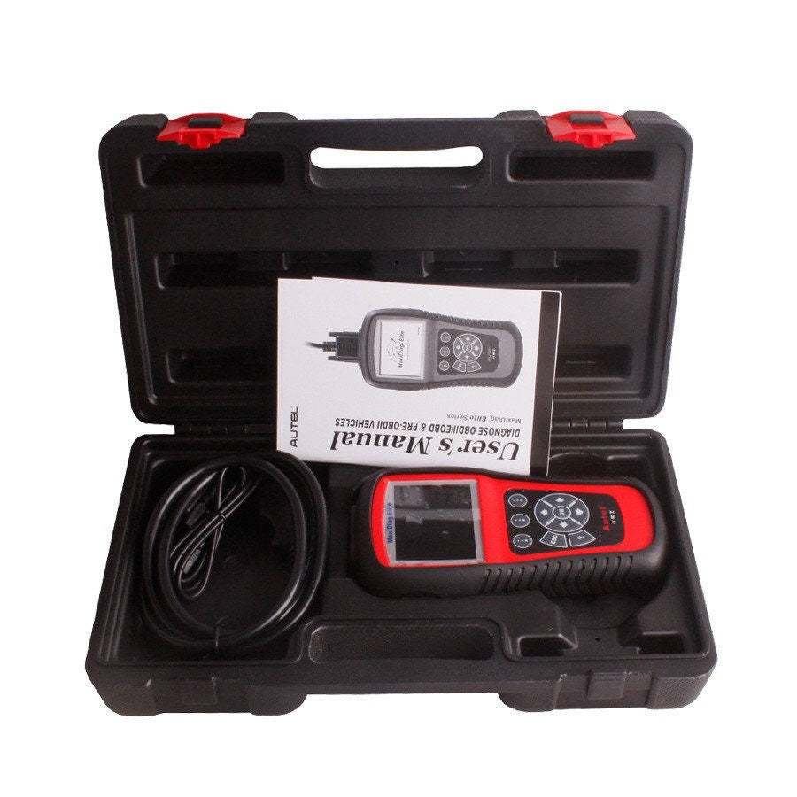 Autel Maxidiag Elite MD704 With DS Model Diagnose For 4 System Update Online - Car Diagnostic Tool