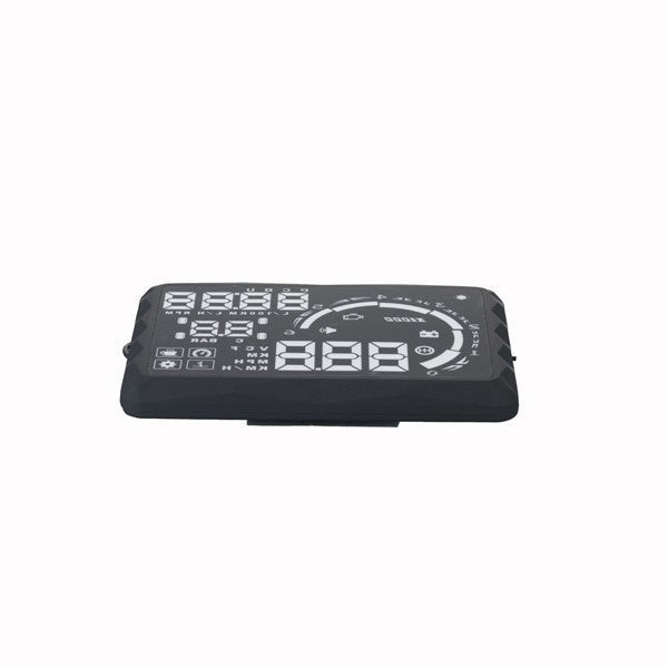 "New 5.5"" LED OBD-II HUD Head Up Display Over Speeding Warning S5"