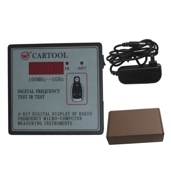 Car IR Infrared Remote Key Frequency Tester (Frequency Range 100-1000MHZ) - Car Diagnostic Tool