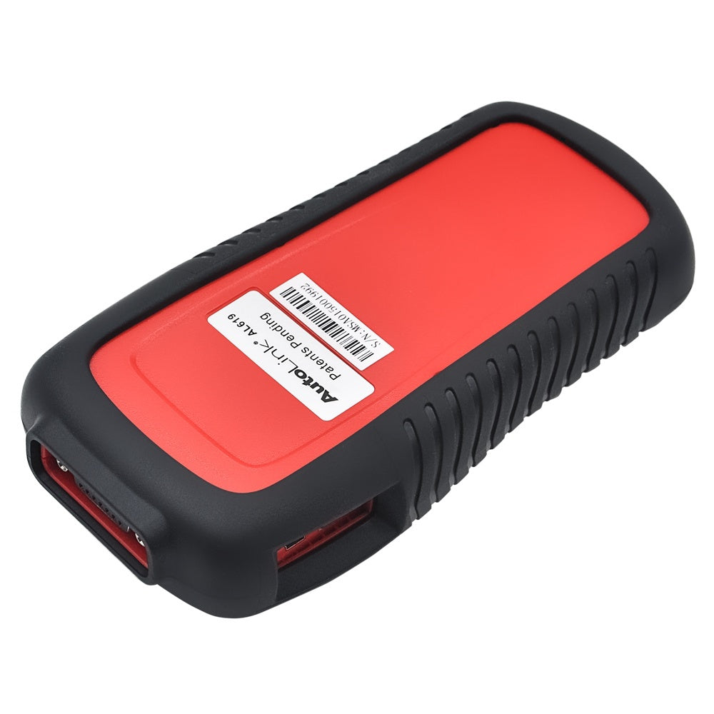 Autel AutoLink AL619 OBDII CAN ABS and SRS Scan Tool AL619 AL 619 Professional Diagnostic tool - Car Diagnostic Tool
