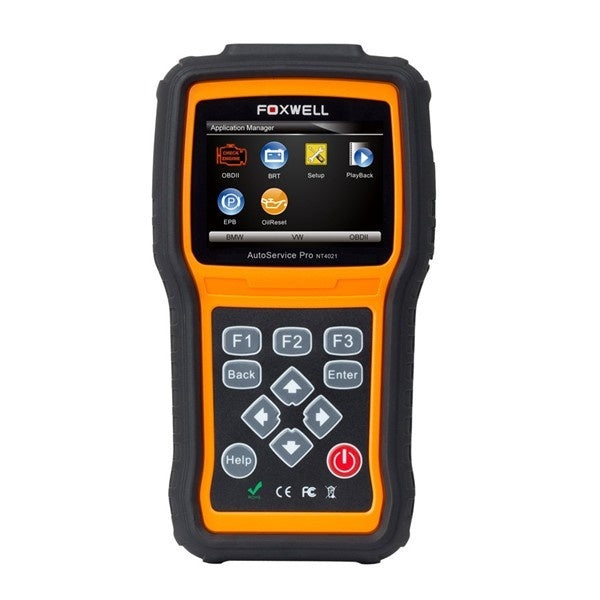 Foxwell Pro NT4021 AutoService Tool For Oil Light Reset/EPB Service/Battery Configuration