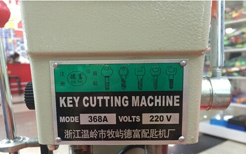 368A universal key cutting machine for door and car key Cutting Machine Locksmith Equipment key cutting machine - Car Diagnostic Tool