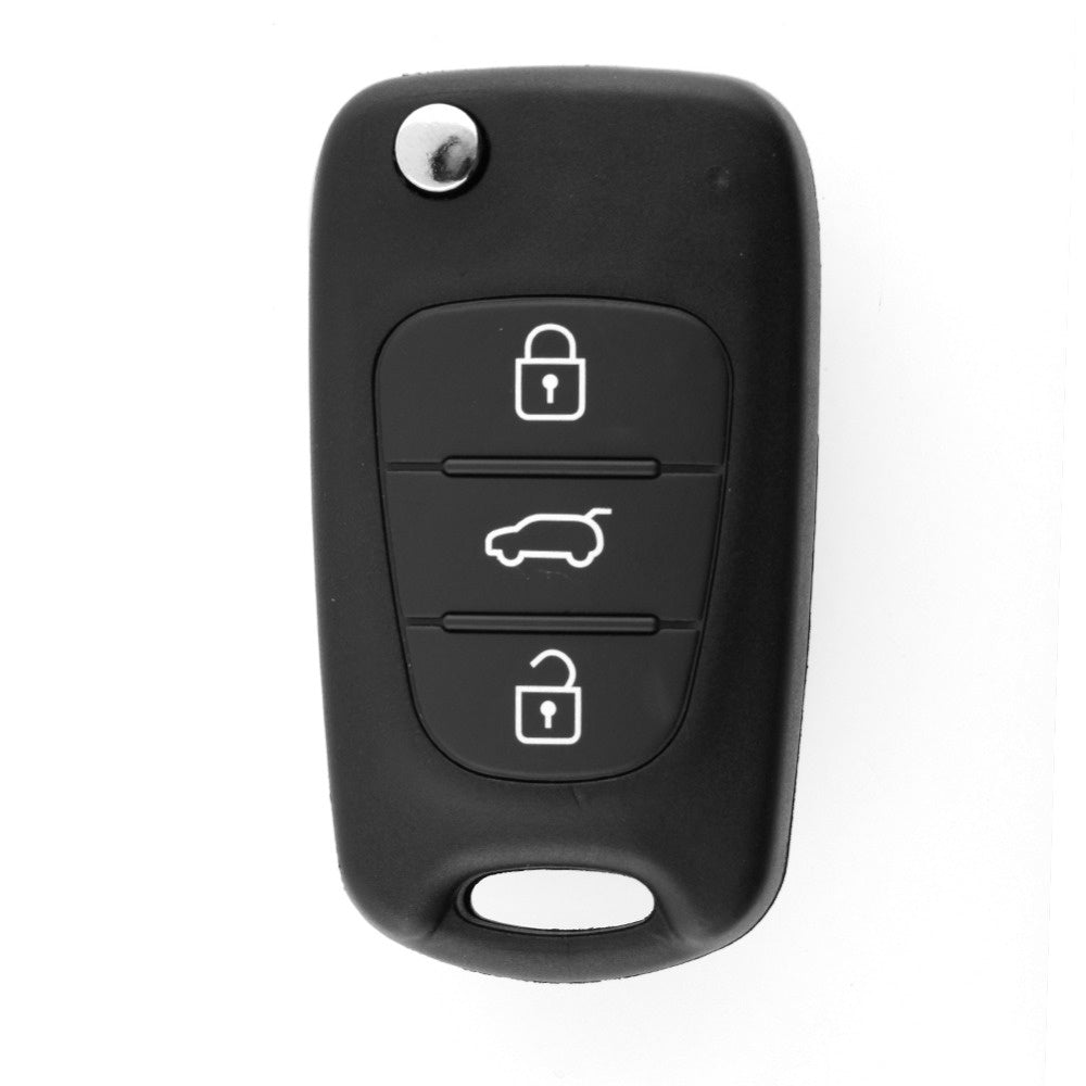 3 BUTTONS For KIA SORENTO SPORTAGE CERATO RIO Uncut Blade Replacement Folding Remote Keyless Entry Key CASE Shell - Car Diagnostic Tool