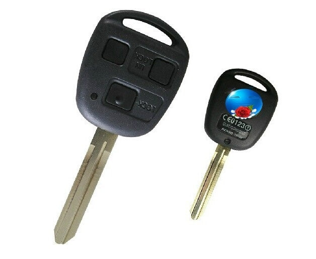 BRAND NEW Remote Key(60010) 3 Button 314.4MHz For Toyota LandCruiser 4700 98-2002 With 4C Chip - Car Diagnostic Tool