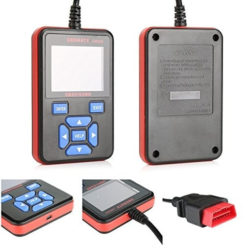 AUTOPHIX OBDMATE OM580 OBDII/EOBD CAN Diagnostic Scan Tool for OBDII OBD2 EOBD Vehicles Full Mode Code Reader Playback & Clear - Car Diagnostic Tool