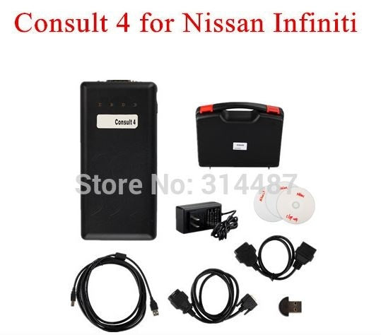 For Nissan Consult 4 for Nissan Infiniti and Newest Renault Super Diagnostic Interface