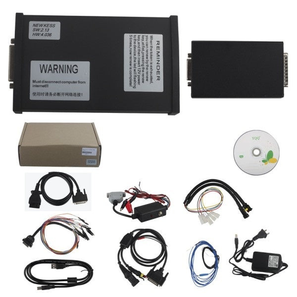V2.15 FW V4.036 KESS V2 Manager Tuning Kit Master Version with Unlimited Token