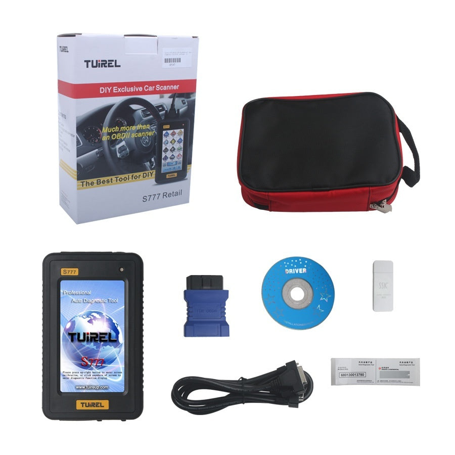 Tuirel S777 OBD2 Diagnostic Tool Support 46 Models With Full Software Multi Language