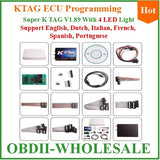 With 4 Leds Top-rated KTAG K-TAG ECU Programming Master KTAG