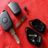 1 button remote key case 406 key blade for Peugeot car key no logo---2 PCS - Car Diagnostic Tool