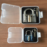 High Quality New Brand Pick Cutaway Inside View Padlock Lock For Locksmith Practice Training Skill