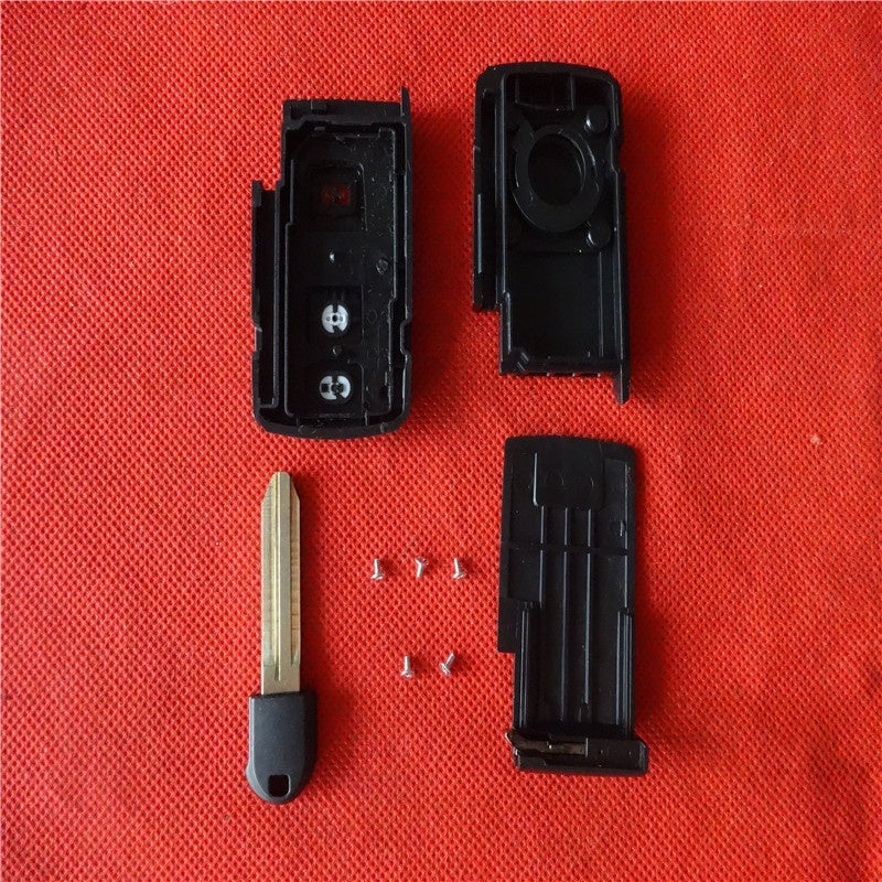 New Replacement Smart Remote Key Case Shell Keyless 2+1 Button for Toyota Prius Fob