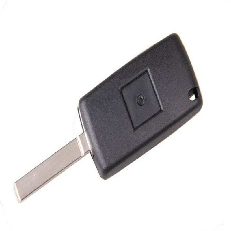 Light button 3 button flip key shell for peugeot /citoen Uncut Blade CE0536 HU83 with Light button + screwdriver with groove