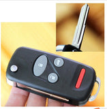 SWITCH Modify 4 BUTTONS Folding flip Remote fob Key Shell Case FOR Honda fob