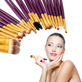New Arrival Pro 20Pcs Superior Cosmetic Brushes Set Kit Makeup Tool Brushes Hot Selling