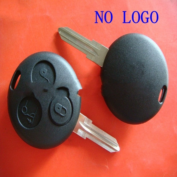 smart fortwo 450 case shell fortwo Remote Key Shell Replace fit for SMART Fortwo 3 Button Fob Mercedes Benz Case 2pcs/lot