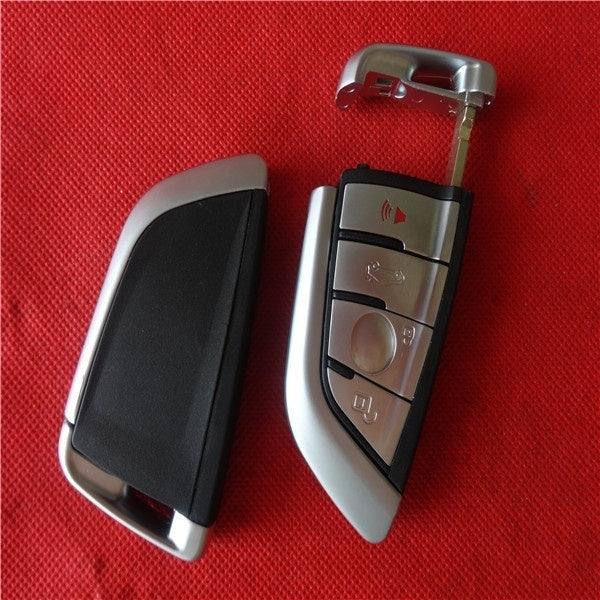 NEW Arrival Replacement Shell Remote Key shell 3+1 Buttons For BMW 2015 X5 with LOGO