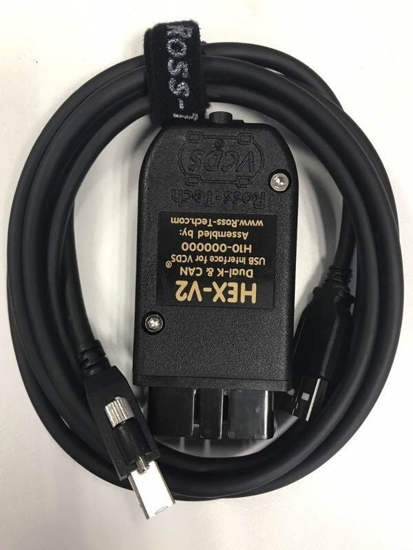 VCDS HEX-V2  in English Enthusiast USB Interface, VCDS2 support the 2018/2019 car models