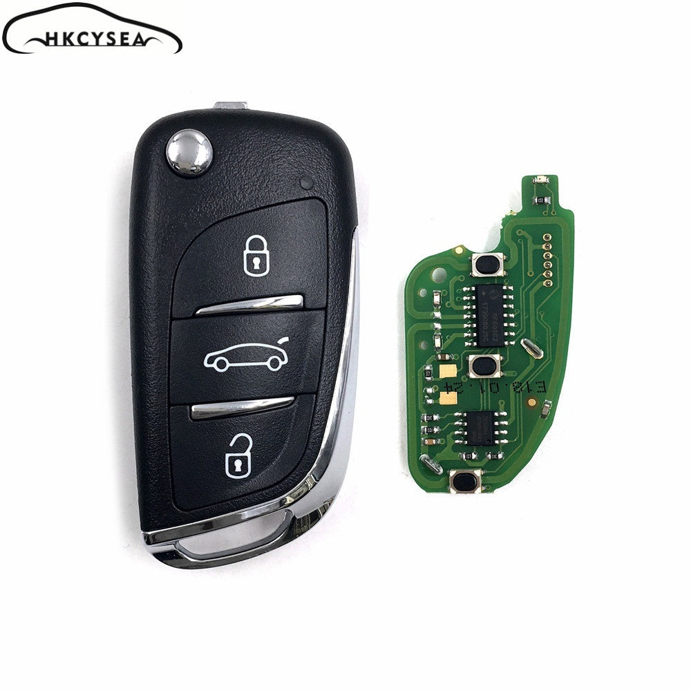 Xhorse VVDI2 English Version Wireless Universal Remotes Key 3 Buttons DS Style for VVDI Key Tool