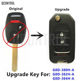 Upgraded Auto Remote Key for Honda Accord CR-V Fit City Civic Element Odyssey