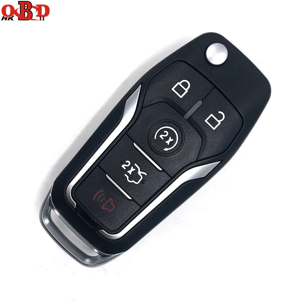 433MHZ With 4D63 4D60 Chip for Ford Focus Mondeo S-MAX Ecosport 2013 2014 OEM Factory Keyless Entry Flip Key Fob Remote - Car Diagnostic Tool