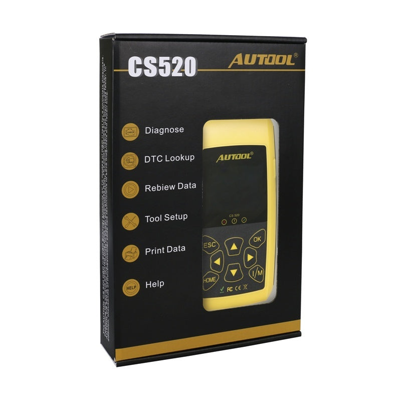 AUTOOL CS520 OBD2 EOBD CAN-BUS Code Reader Live Data Automotive Fault Code Scanner Car Diagnostics Scan Tool - Car Diagnostic Tool