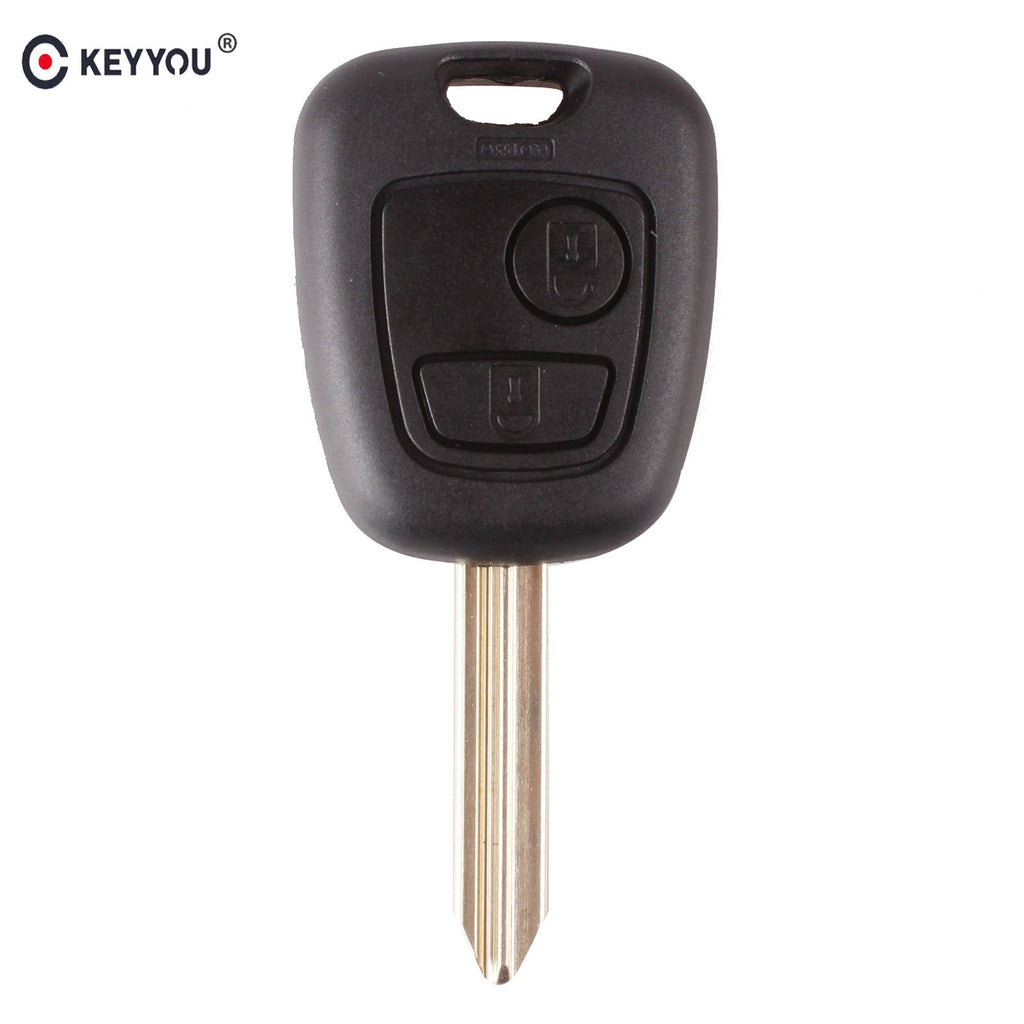 Car Key Case Fob For Citroen C1 C2 C3 Saxo Xsara Picasso Berlingo 2 Button Remote Key Fob - Car Diagnostic Tool