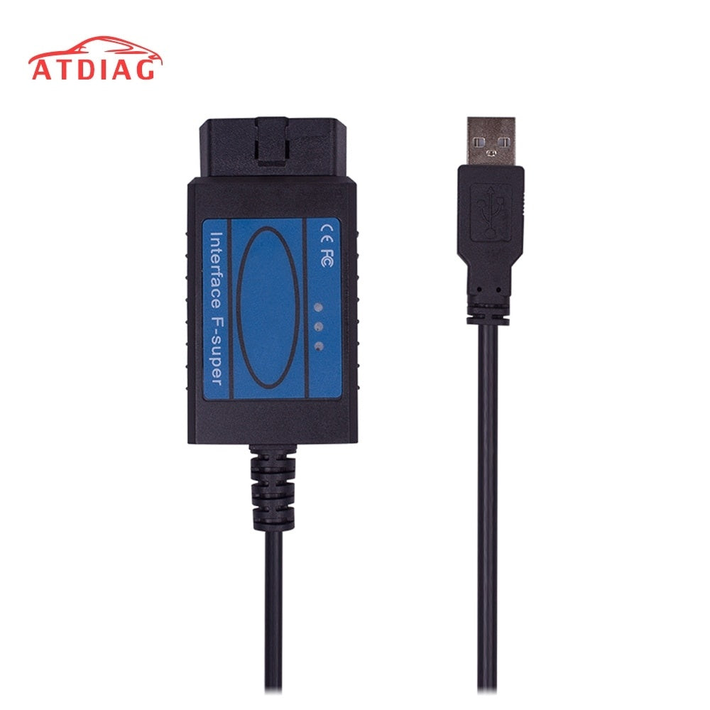 High Quality For Fiat Scanner Professional Car Diagnostic Tool OBD2 OBD 2 connector Code Scan tool