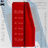 Original JMD Super Chip Red Super Unlimited Copy Chip King JMD Handy Baby Key Copier JMD Chip for Clone ID46/4C/4D/48/47/T5