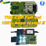 A++ Quality Green Single Board CDP PRO Low Price TCS CDP bluetooth 2016.00 newest Software New VCI TCS CDP Pro Scanner - Car Diagnostic Tool